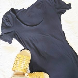 🌼Midi Short Sleeve Crew Neck Dress 🌼